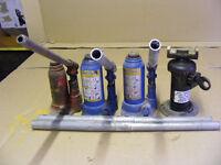 4 Hydraulic Bottle Jacks