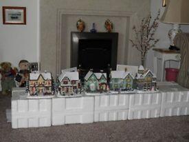Christmas Cottages Illuminated