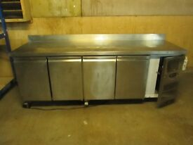 frigmac CK7410 4 Door Refrigerated Counter,GOOD CLEAN CONDITION,used