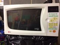 LG microwave oven