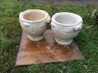 stone planter s
