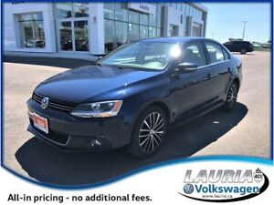 2014 Volkswagen Jetta 1.8 TSI Highline Auto - Leather / Sunroof
