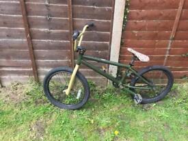 Green mongoose bmx bike