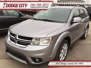 2017 Dodge Journey RT | AWD | DEMO - Uconnect, Heated Seats, DVD