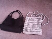 Two small evening bags