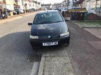 2001 fiat punto 1.3 petrol start and drive Mot and tax