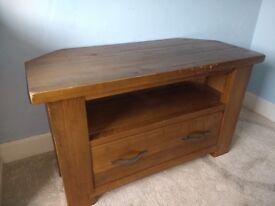 Wood TV unit for sale.