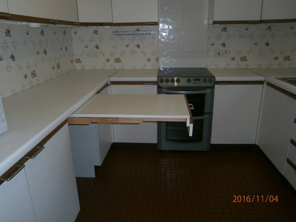 Kitchen Worktop Pull Out Table