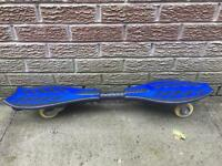 Ripstick waveboard skateboard- blue/black