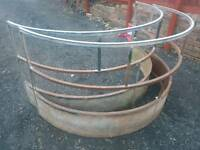 Choice of sheep horse round bale ring feeder livestock tractor from £65