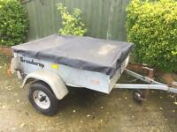 "Brenderup 5ft x 3ft 7"" Trailer With Cover"
