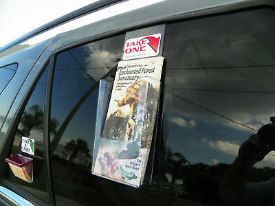 Vehicle Window Brochure Holder 4 Wide