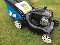 Macalister 400mm cut self Propelled Lawnmower hardly used less than a year old