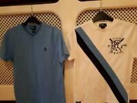 2 Ralph Lauren Polo Tee-Shirts