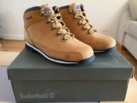 Timberland Hiker Wheat Mens Boots *LIKE NEW IN BOX*
