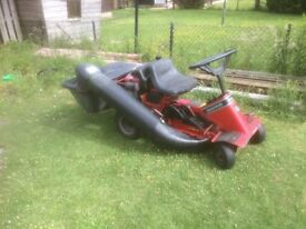 snapper ride on mower