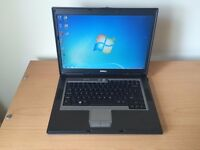 Dell Laptop Windows 7 Dual Core Processor 120GB Hard Drive 2GB RAM