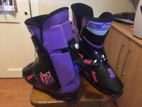 Nordica N757 Ski Boots; size 11 - used but in good condition