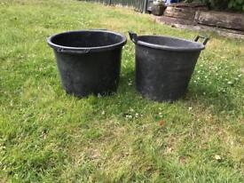 Heavy duty 30 litre plant pots