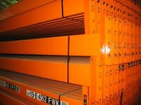 JOBLOT DEXION pallet racking 4.2m high excellent condition ( pallet racking , industrial storage )