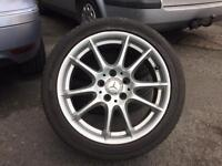 Mercedes B200 class original alloys wheels 17""