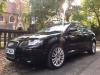 2007 AUDI A3 2.0 TDI SE 140 BHP 95000 MILES FULL SERVICE HISTORY AND PRINT OUT IN STUNNING CONDITION