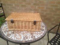 Brand New Wicker Picnic/Hamper Basket
