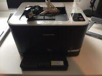 Samsung printer, CLP325w Excellent condition