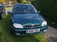 Citroen Saxo 1.1 three door hatch 1 owner full mot