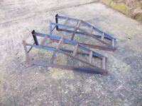 Pair of car ramps for sale.