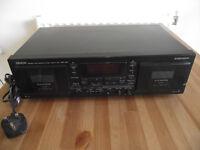 Denon double tape deck - DRW-580