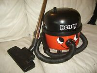 NUMATIC HENRY HOOVER 1200W TWIN SPEED WITH HOSE PIPES AND FLOOR HEAD