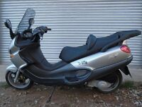 piaggio x9 125 scooter learner legal moped commuter 125cc like gilera peugeot no px trials bike