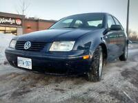 2002 Volkswagen Jetta TURBO. LOW KMS!!