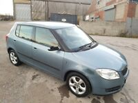 2007 SKODA FABIA 1.4 TDI PD 5 DOOR HATCHBACK GREY LONG M.O.T