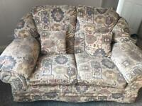 2 seater and 1 seater sofa