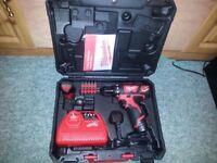 Milwaukee M12 Cordless Drill/Driver Set Brand New !!!