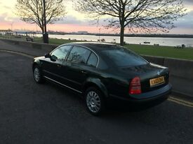 Skoda Superb 1.8T. 88K - low mileage. 2003. Very good condition Safe and good car on a road £1100ono
