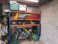 Industrial racking. Storage