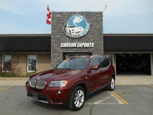 2014 BMW X3 XDrive28I! WOW PANO ROOF! $199.00 BI-WEEKLY+TAX!