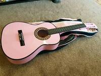 Pink guitar for sale