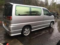 Nissan elgrande day van/camper price reduced