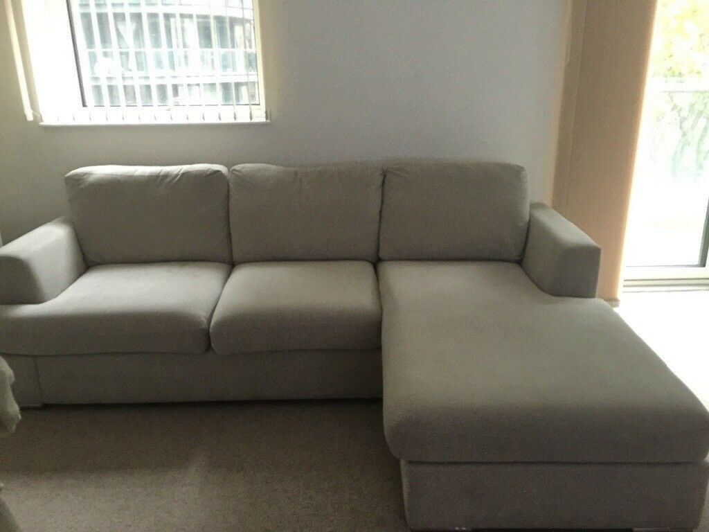 White sofa and Green Sofa