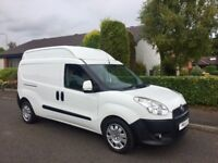 Fiat doblo long wheel base 1.6 6 speed extra high roof 1 owner full dealer history low miles