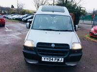 Fiat doblo 1.9 jtd with wheel chair access winch remote.ideal mobility car ..free delivery 2495