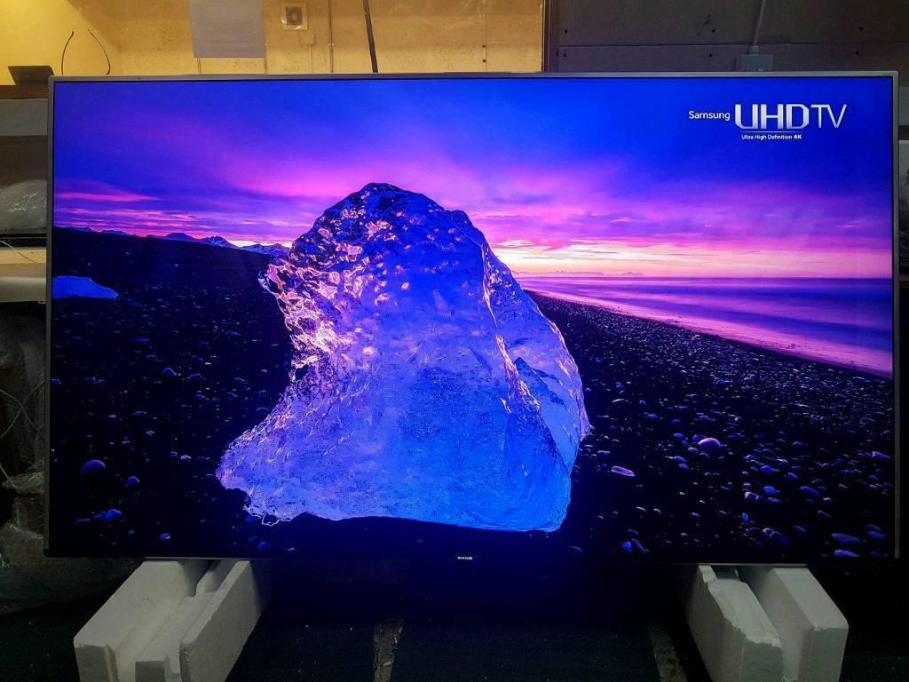 Samsung 75 INCH 4k UHD LED SMART TV WITH QUANTUM DOT DISPLAY UE75KS8000 SERIES 8 TOP RANGE