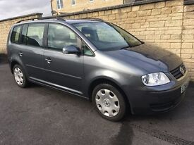 VW Touran 1.9TDI SE. Very low mileage!! Cambelt kit done. Serviced recently. Full service history!!