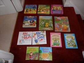 Variety of books for the younger ones