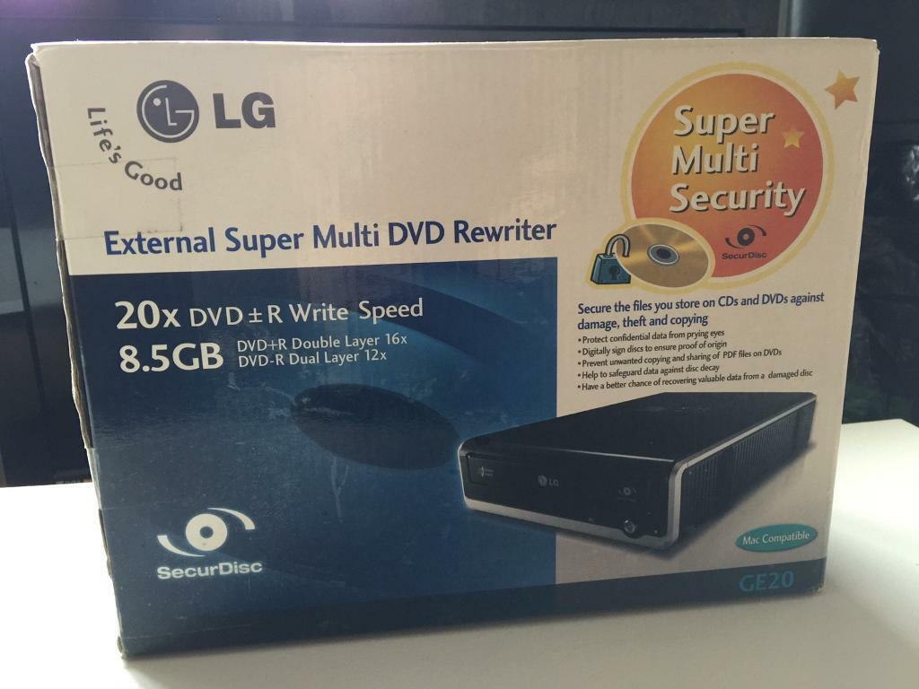 LG External Super Multi DVD Rewriter