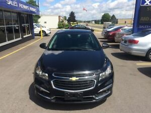 2015 Chevrolet Cruze 2LT/ SUNROOF/ NAVI/ CAR-PROOF ATTACHED